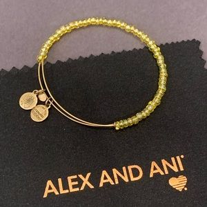 Alex and Ani Beaded Wire Bangle